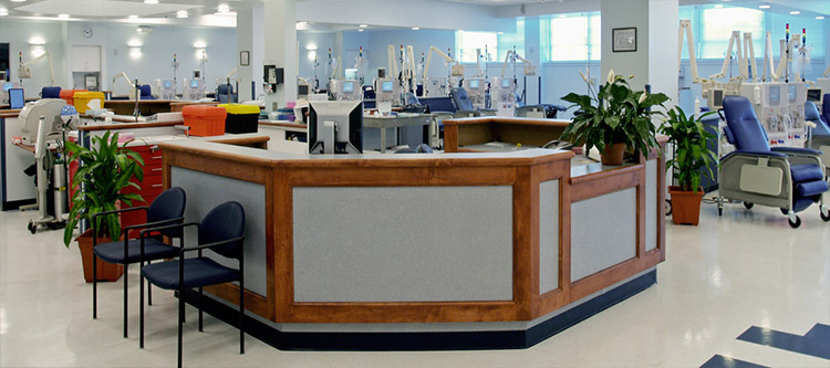 Picture of healthcare department fitout