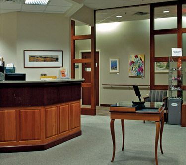Picture of a Healthcare Reception Area