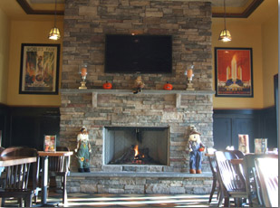 Uno Chicago Grill Fireplace