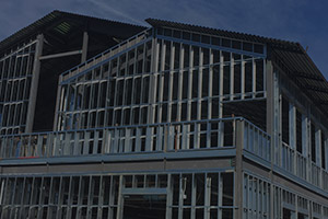 picture of exterior cold formed metal frames