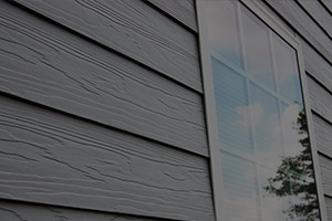 picture of fiber cement siding on a residential house